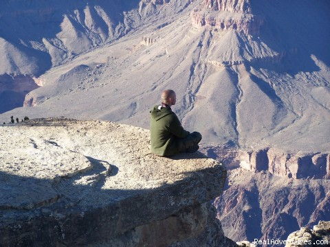 Meditating - Grand Canyon Tours by Grand Adventures