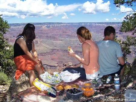 Picnic Lunch - Grand Canyon Tours by Grand Adventures