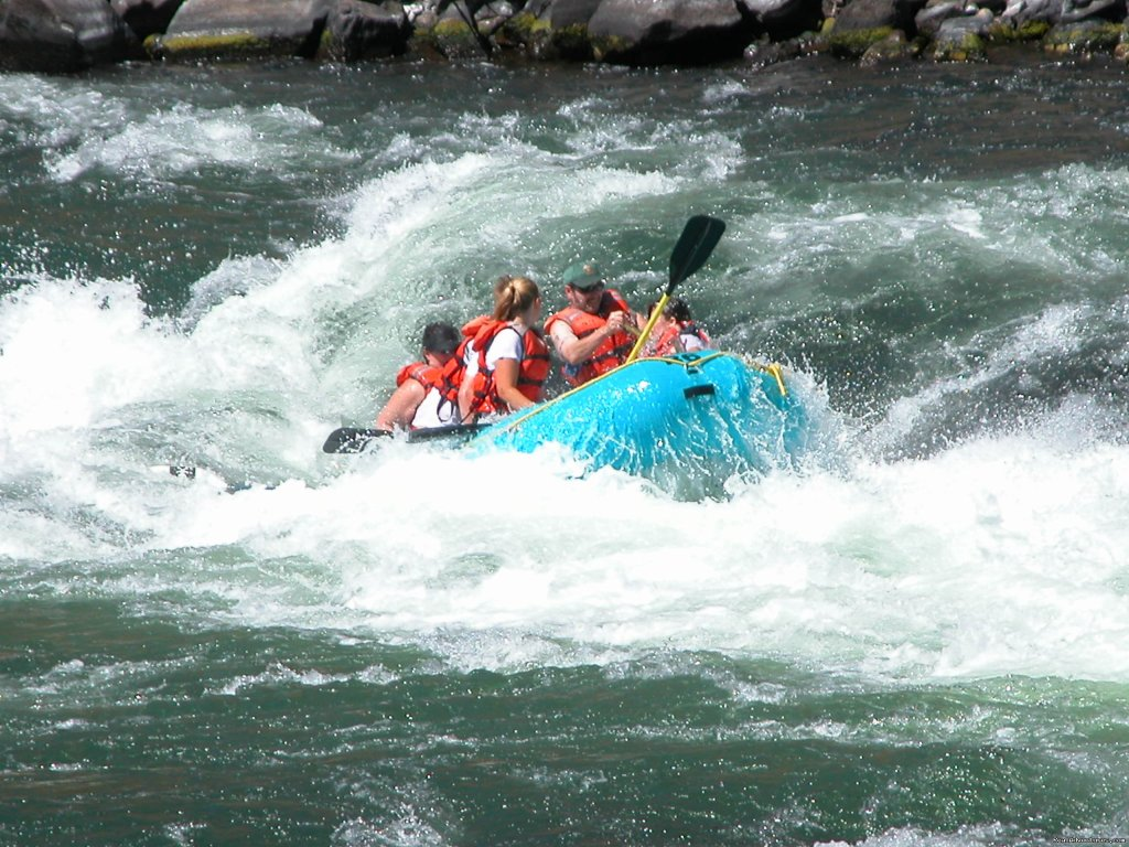 In the Hole!! | Image #2/3 | Exciting Rafting Adventures in Oregon
