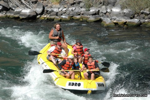 Dan and his crew!!! - Exciting Rafting Adventures in Oregon