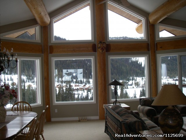 Enjoy Panoramic views. - Sun Peaks Resort Private Post &Beam Chalet