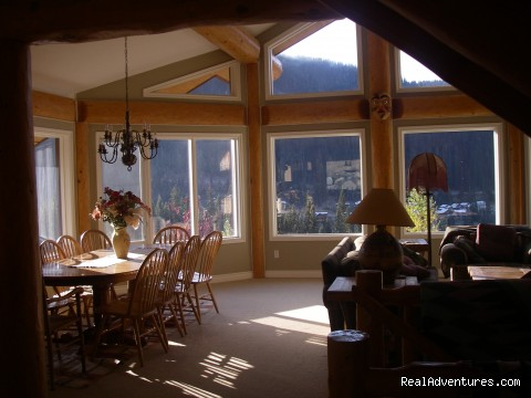 open concept in great room (#5 of 26) - Sun Peaks Resort Private Post &Beam Chalet