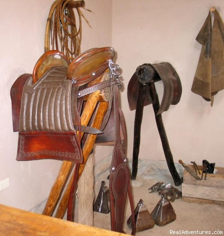 tackroom - exclusive horseback riding tours in Peru
