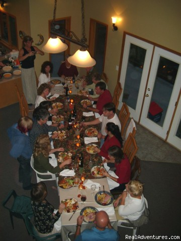 Great for large groups and gourmet meals - Sun Peaks all season rental - Casa Jax Chalet