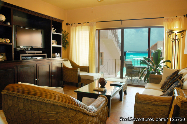Spacious Living Area - Special Luxury 3 Bedroom Penthouse on Beach