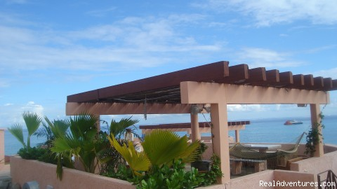 Private Roof with Grill, Refrigerator (#7 of 17) - Special Luxury 3 Bedroom Penthouse on Beach