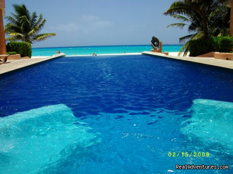 Pool with Spa (#12 of 17) - Special Luxury 3 Bedroom Penthouse on Beach