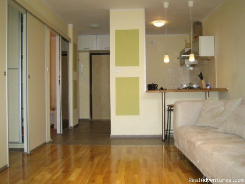 Apartments in the center of Warsaw from 39 euro/ day