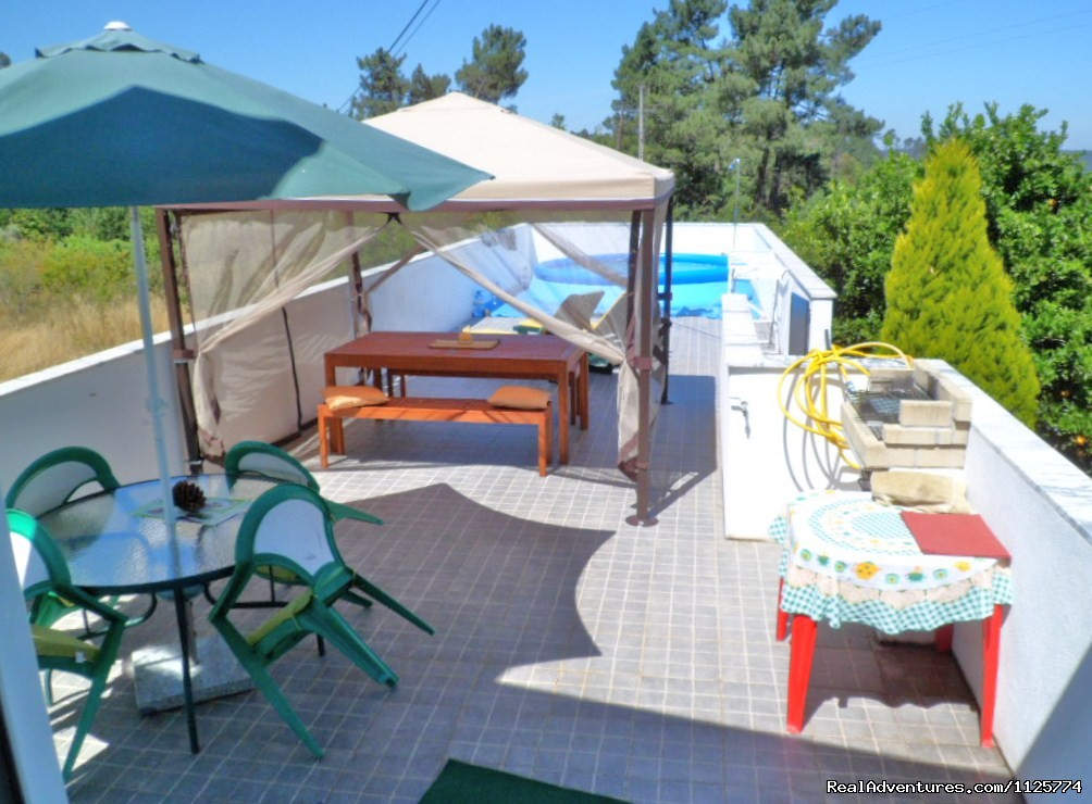 Sunterrace With Pool | Image #1/20 | Lousa/coimbra, Portugal | Vacation Rentals | Cosy Countryside Self-catering Accomodation