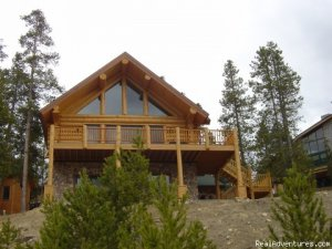 Ski and Stay at a Log Home with Breathtaking Views Vacation Rentals Winter Park, Colorado
