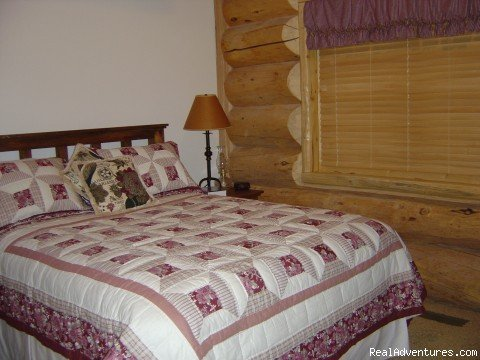 2nd Bedroom | Image #4/4 | Ski and Stay at a Log Home with Breathtaking Views