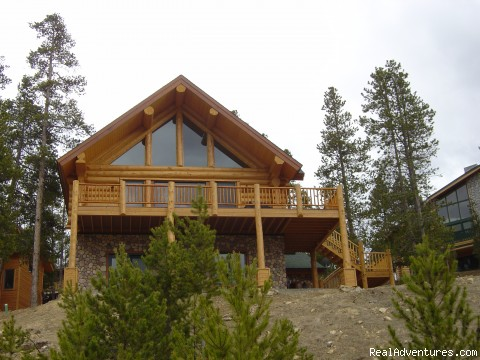 Front View (#1 of 4) - Ski and Stay at a Log Home with Breathtaking Views