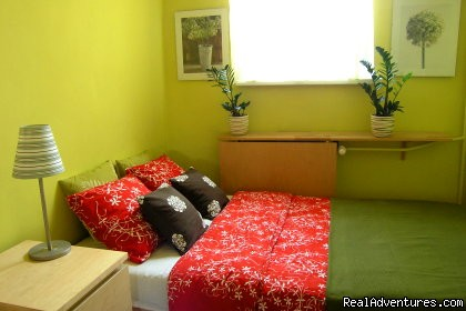 Double bedroom - KrakowRentals - Kazimierz Apartment