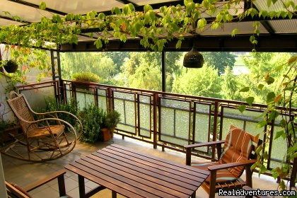 Terrace once again - KrakowRentals - Kazimierz Apartment