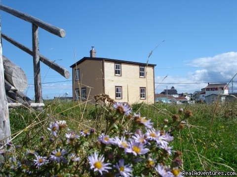 The Thomas Mouland House Bonavista Newfoundland - CapeRace Adventures Newfoundland