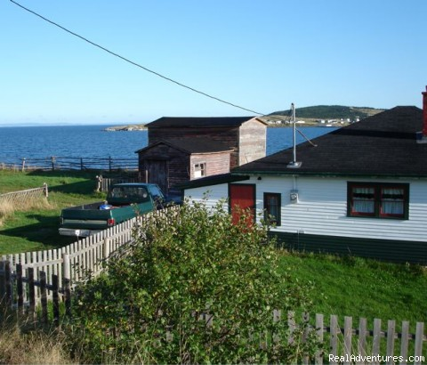 EJ Sooley House at Heart's Delight Newfoundland - CapeRace Adventures Newfoundland