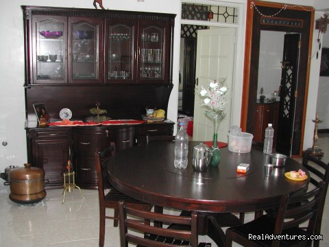 Dining at Planters Bungalow - Devagiri Retreat Homestay Bed&Breakfast Sakleshpur