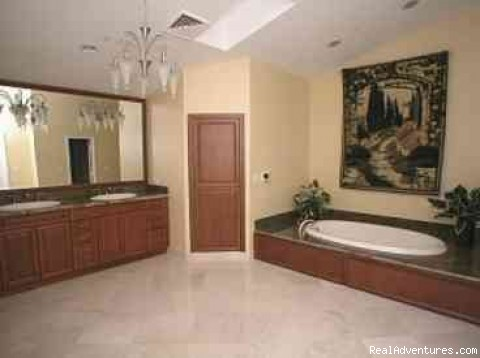 master bathroom - Beautiful Luxury Home on the Intracoastal