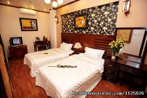 Superior twin room - Indochina 1 Hotel