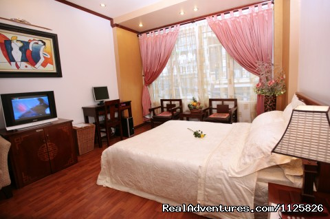 Deluxe double room - Indochina 1 Hotel