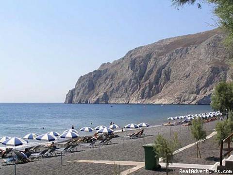 Kamari Beach @ Santorini Island - Hotel Matina, Santorini Island, GREECE