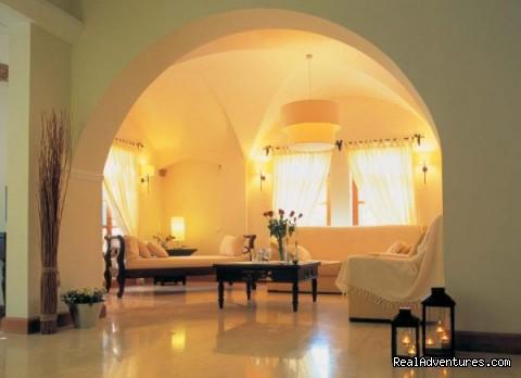 Hotel Matina - Reception lobby (#4 of 15) - Hotel Matina, Santorini Island, GREECE