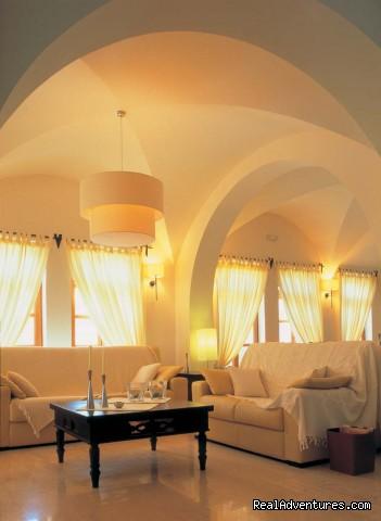Hotel Matina Lounge - Hotel Matina, Santorini Island, GREECE