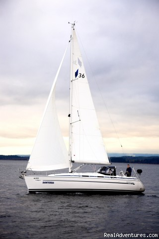 Side view - Vancouver Island Sailing School, lessons & courses