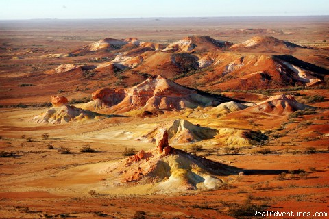 Painted Hills, Outback South Australia - Just Cruisin 4wd Tours Australia