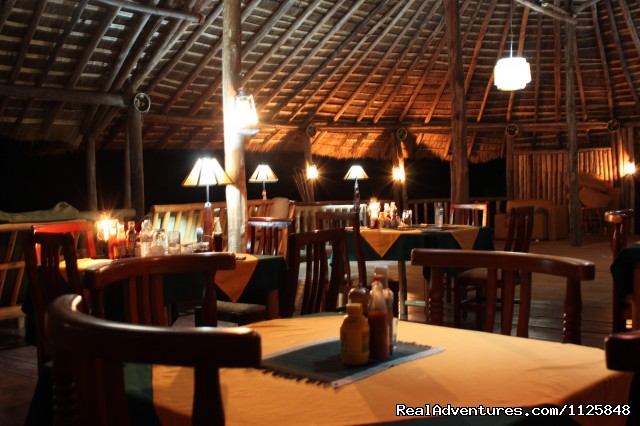 Dinning at the Gorilla Camp - Gorilla Safari - Gorilla Resort Bwindi