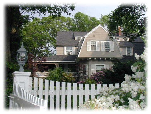 Romantic York Maine Inn at Tanglewood Hall B&B Along Coastal Route 1A