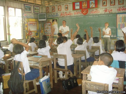 In The Classroom With Absolute Explorer - Bangkok & Countryside Bicycle Absolute Explorer