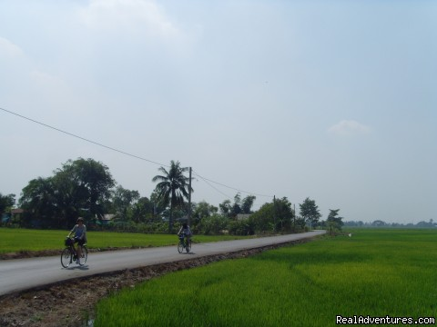 Cycling With Absolut Explorer - Bangkok & Countryside Bicycle Absolute Explorer