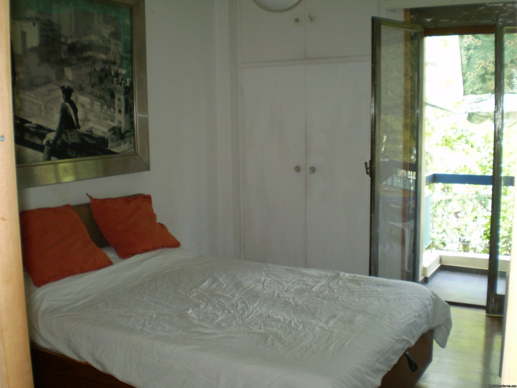 Bedroom 1 | Image #4/5 | 2 Bedroom Funky Furnished Beach Flat For Rent