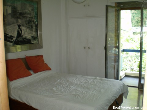 Bedroom 1 - 2 Bedroom Funky Furnished Beach Flat For Rent