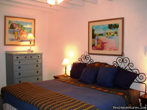Bluestone master bedroom (#4 of 8) - St. Thomas Vacation Rental Apartments