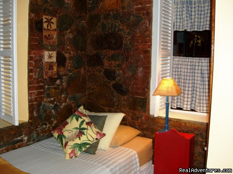 Bluestone twin bedroom. (#6 of 8) - St. Thomas Vacation Rental Apartments