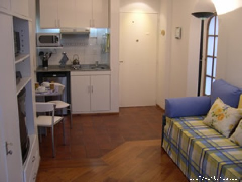 Entry Door - Buenos Aires Vacation Apartment Rentals Quintanita