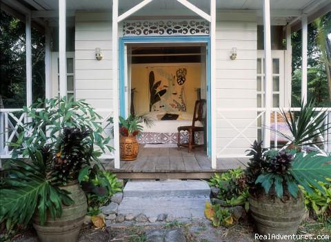 Frangipani Cottage - Caribbean Plantation Guesthouse