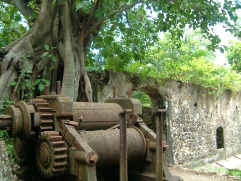 18th century Sugar mill - Caribbean Plantation Guesthouse