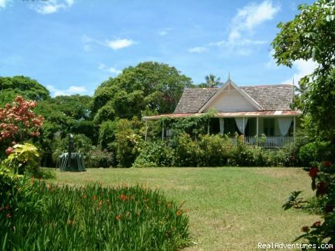 Balenbouche Plantation House - Caribbean Plantation Guesthouse