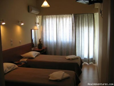 Twin Room - Aristoteles Hotel