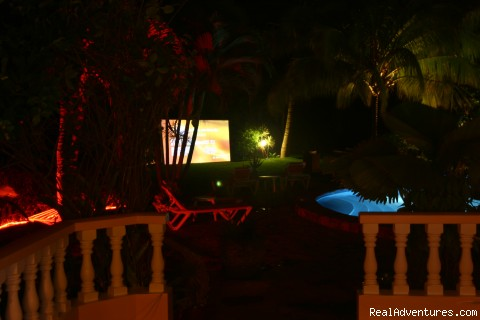 Outdoor theatre - Exotic La Perla Negra Private Resort
