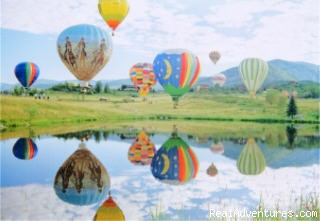 Hot air balloon the Rockies!! 970-887-1340