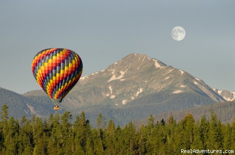 balloon moon, Byers peak - Hot air balloon the Rockies!! 970-887-1340