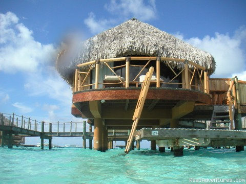Bora Bora overwater bungalow (#3 of 3) - Special Occasion Travel for Romantic Getaways