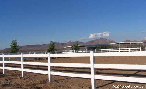 Equestrain Center - Wild West Getaways At Rusty's RV Ranch