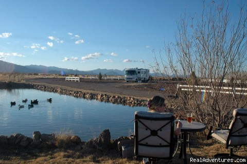Large Sites / 2 Pond - Wild West Getaways At Rusty's RV Ranch