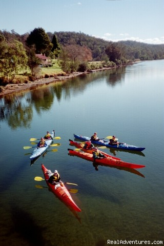 Exploring the local rivers - Kayaking Tours on the South Coast of NSW