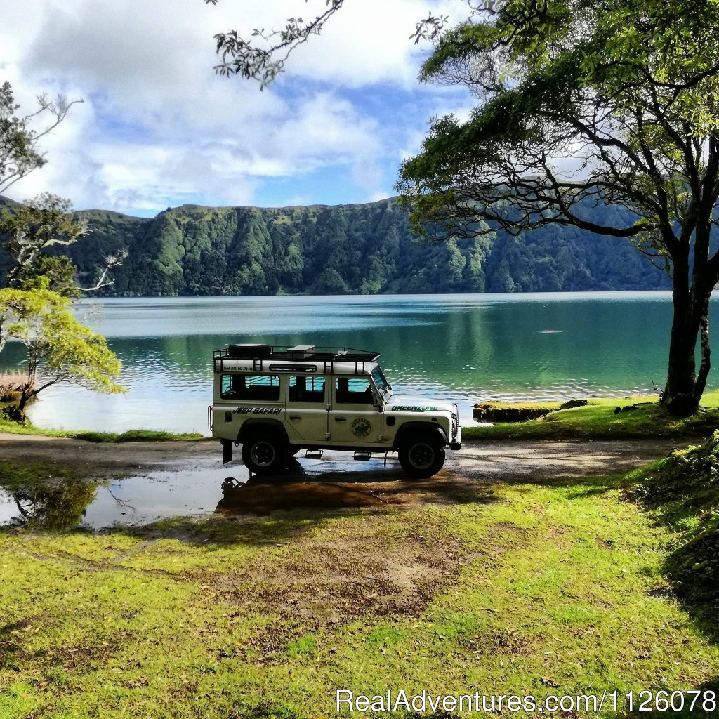 Greenzone tours offers you both half and full day tours on the island o S.Miguel.  With english speaking guidesit is our pleasure to show yu the  island of S.Miguel.  Sete Cidades, Lagoa Do Fogo, Furnas. Cruise Ship Shore Excursions also available.